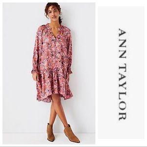 NWT Ann Taylor Floral Swing Dress